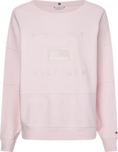 tommy-hilfiger-naisten-collegepaita-relaxed-tonal-sweatshirt-vaaleanpunainen-1