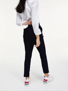 tommy-hilfiger-naisten-housut-cool-slim-pant-tummansininen-2
