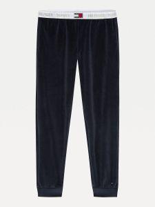 tommy-hilfiger-naisten-housut-track-pant-velour-tummansininen-1