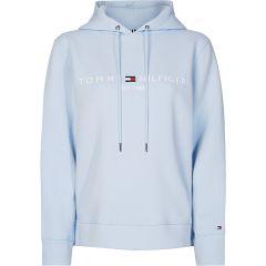 tommy-hilfiger-naisten-huppari-ess-hilfiger-hoodie-ls-vaaleansininen-1