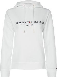 tommy-hilfiger-naisten-huppari-ess-hilfiger-hoodie-ls-valkoinen-1