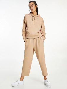 tommy-hilfiger-naisten-huppari-relaxed-grossgrain-hoodie-vaalea-beige-1