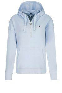 tommy-hilfiger-naisten-huppari-th-ess-relaxed-half-zip-hoodie-vaaleansininen-1