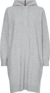 tommy-hilfiger-naisten-hupparimekko-th-flex-relaxed-hooded-short-dress-vaaleanharmaa-1