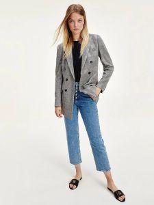 tommy-hilfiger-naisten-jakku-polyviscose-blazer-musta-ruutu-1