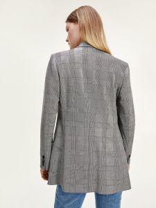tommy-hilfiger-naisten-jakku-polyviscose-blazer-musta-ruutu-2
