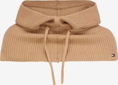 tommy-hilfiger-naisten-kaulahuivi-essential-knit-hooded-snood-vaalea-beige-1