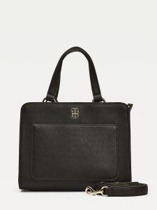 tommy-hilfiger-naisten-laukku-city-satchel-musta-1
