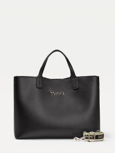 tommy-hilfiger-naisten-laukku-iconic-tommy-satchel-musta-1