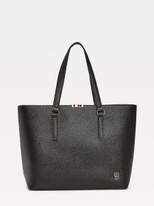 tommy-hilfiger-naisten-laukku-saffiano-tote-musta-1
