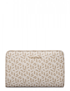 tommy-hilfiger-naisten-lompakko-iconic-tommy-medium-wallet-beige-kuosi-1