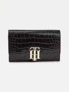 tommy-hilfiger-naisten-lompakko-lock-med-flap-wallet-musta-1
