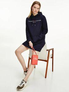 tommy-hilfiger-naisten-mekko-regular-hilfiger-hoodie-dress-tummansininen-1