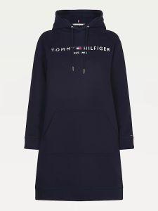tommy-hilfiger-naisten-mekko-regular-hilfiger-hoodie-dress-tummansininen-2