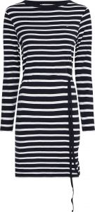 tommy-hilfiger-naisten-mekko-regular-short-dress-raidallinen-sininen-1