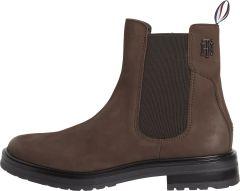 tommy-hilfiger-naisten-nahkakengat-ad-th-stud-flat-boot-tummanruskea-1