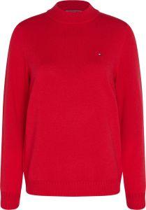 tommy-hilfiger-naisten-neule-sp-wool-cashmere-sweater-kirkkaanpunainen-1