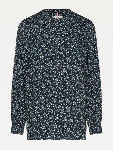 tommy-hilfiger-naisten-paita-raya-pop-over-blouse-sininen-kuosi-2