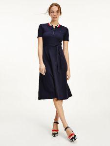 tommy-hilfiger-naisten-pikeemekko-global-stp-f-f-midi-polo-dress-tummansininen-2