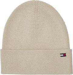 tommy-hilfiger-naisten-pipo-th-essential-knit-beanie-luonnonvalkoinen-1