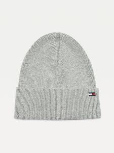 tommy-hilfiger-naisten-pipo-th-essential-knit-beanie-vaaleanharmaa-1
