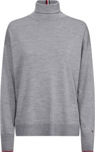 tommy-hilfiger-naisten-pooloneule-essential-rollneck-sweater-vaaleanharmaa-1