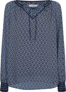 tommy-hilfiger-naisten-pusero-maddie-blouse-ls-sininen-kuosi-1
