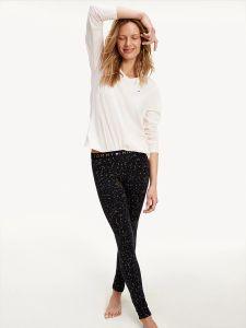tommy-hilfiger-naisten-pyjama-set-ls-legging-holiday-vaaleanpunainen-1
