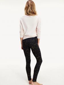tommy-hilfiger-naisten-pyjama-set-ls-legging-holiday-vaaleanpunainen-2