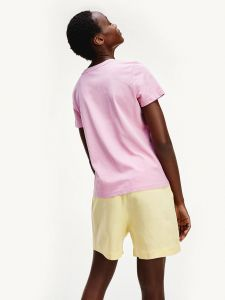 tommy-hilfiger-naisten-t-paita-new-th-ess-hilfiger-ss-vaaleanpunainen-2