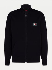 tommy-hilfiger-neuletakki-icon-essential-zip-through-musta-1