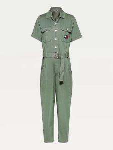 tommy-jeans-girls-naisten-haalari-tjw-boiler-suit-armeijanvihrea-1