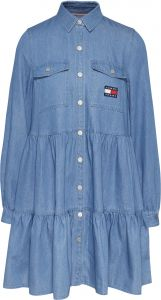 tommy-jeans-girls-naisten-mekko-chambray-shirt-dress-indigo-1