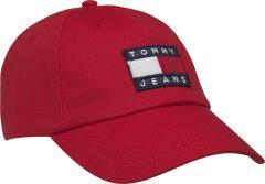 tommy-jeans-lippis-tjm-heritage-cap-kirkkaanpunainen-1