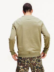 tommy-jeans-miesten-collegepusero-black-label-crew-armeijanvihrea-11