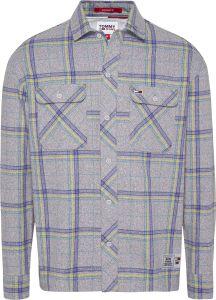 tommy-jeans-miesten-flanellipaita-heather-check-overshirt-harmaa-ruutu-1