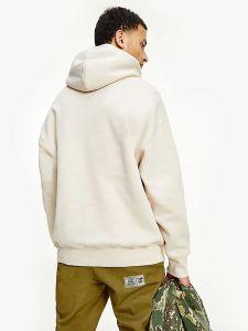 tommy-jeans-miesten-huppari-badge-hoodie-beige-2