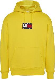 tommy-jeans-miesten-huppari-small-flag-hoodie-kirkkaankeltainen-1