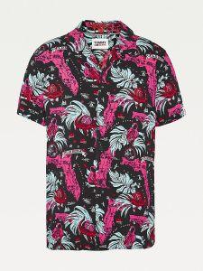 tommy-jeans-miesten-kauluspaita-miami-print-camp-shirt-punainen-kuosi-1
