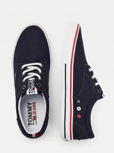 tommy-jeans-miesten-kengat-textile-sneaker-tummansininen-1