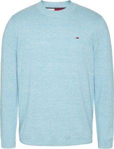tommy-jeans-miesten-neule-light-heather-sweater-turkoosinsininen-1