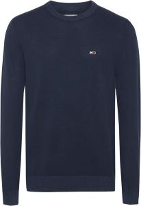 tommy-jeans-miesten-neulepaita-light-weight-sweater-tummansininen-1