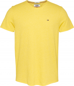 tommy-jeans-miesten-t-paita-essential-jaspe-tee-kirkkaankeltainen-1