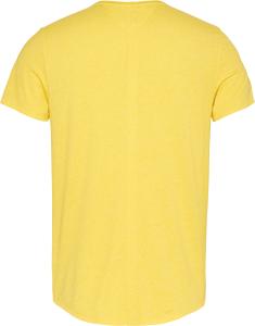 tommy-jeans-miesten-t-paita-essential-jaspe-tee-kirkkaankeltainen-2