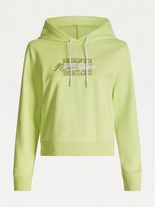 tommy-jeans-naisten-huppari-tjw-cropped-tommy-flag-hoodie-limenvihrea-1