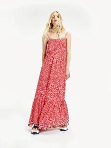 tommy-jeans-naisten-mekko-floral-maxi-strap-dress-kirkkaanpunainen-1