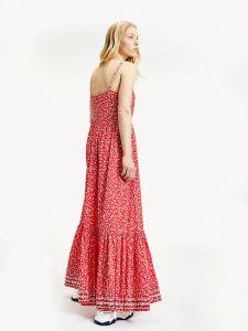 tommy-jeans-naisten-mekko-floral-maxi-strap-dress-kirkkaanpunainen-2