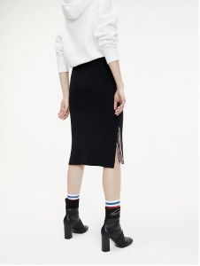 tommy-jeans-naisten-neulehame-tape-detail-skirt-musta-2