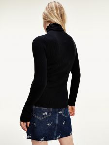 tommy-jeans-pooloneule-flag-rollneck-musta-2