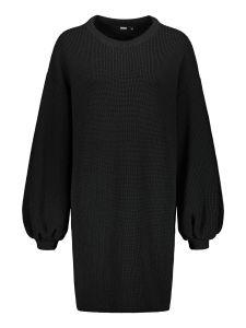 uhana-naisten-neulemekko-flicker-knit-dress-musta-1